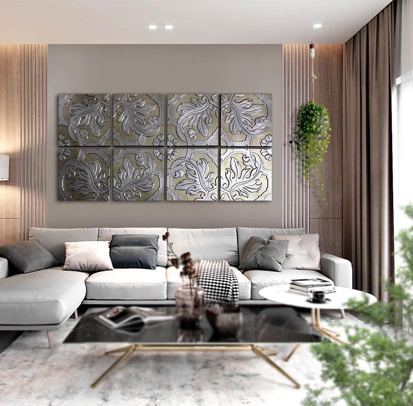 tienda de cuadros para sofas