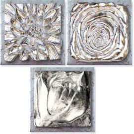 cuadros decorativos plata