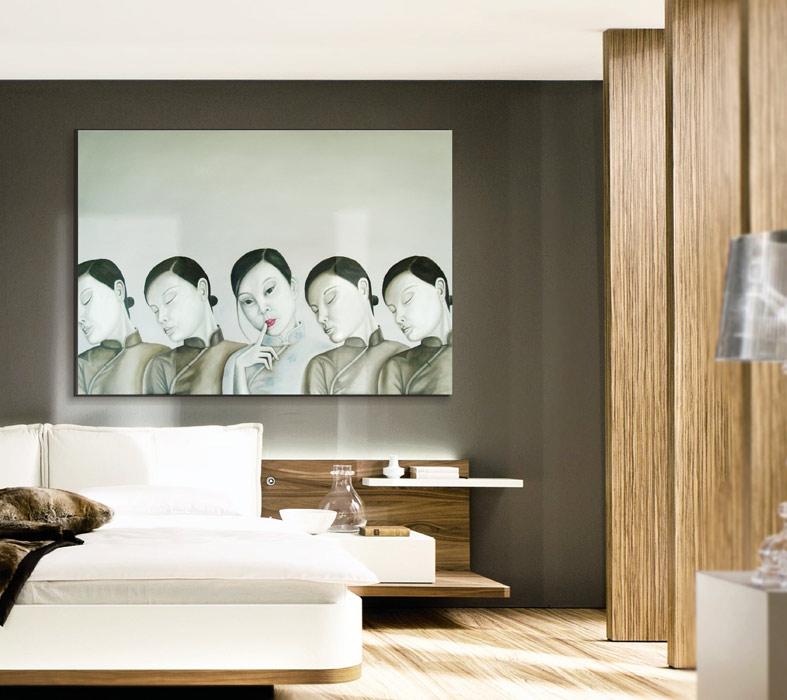 cuadros para dormitorios zen