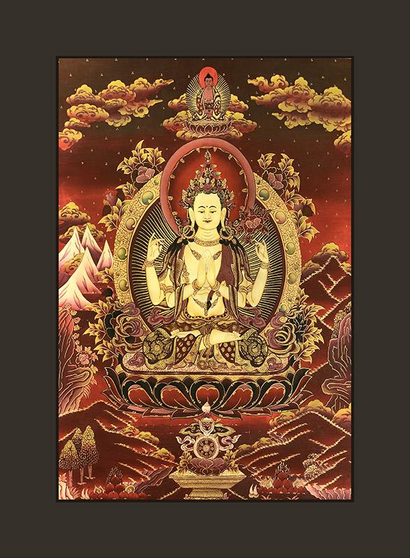cuadro Avalokiteshvara