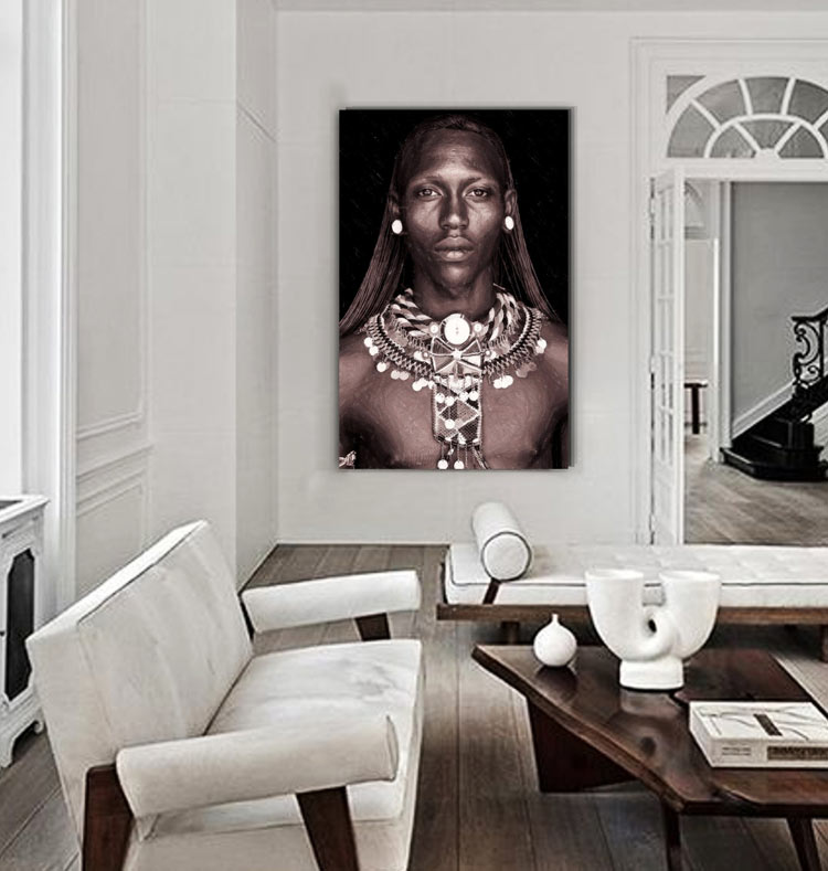 cuadros para pasillos etnicos