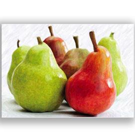 Cuadros de frutas