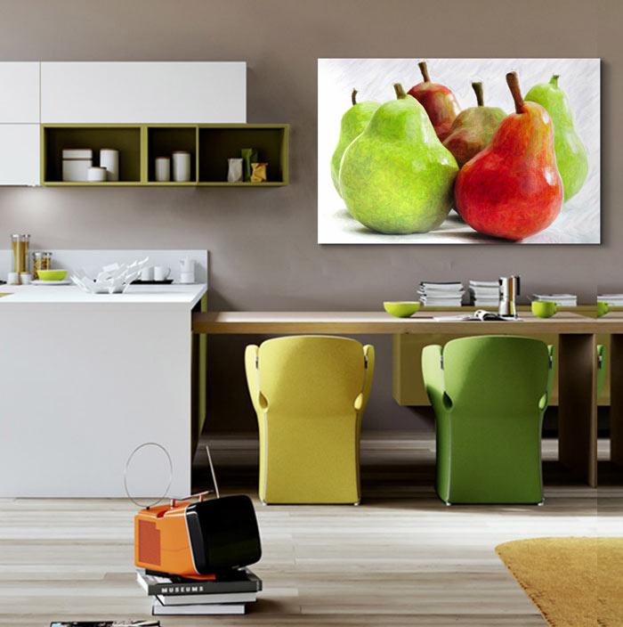 Cuadros de cocinas tips para decorar con cuadros una - Cuadros para la cocina ...
