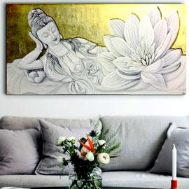 cuadros deidades oro