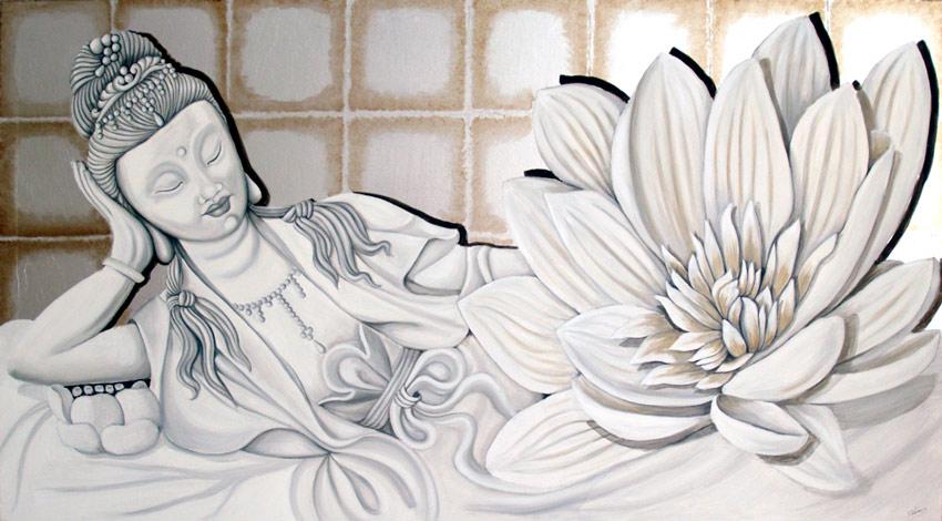 cuadros orientales deidades