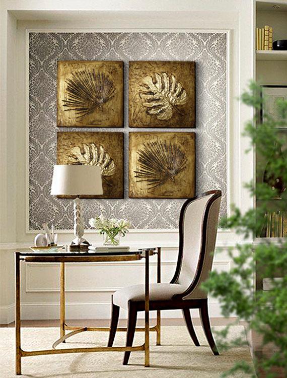 cuadros en oro