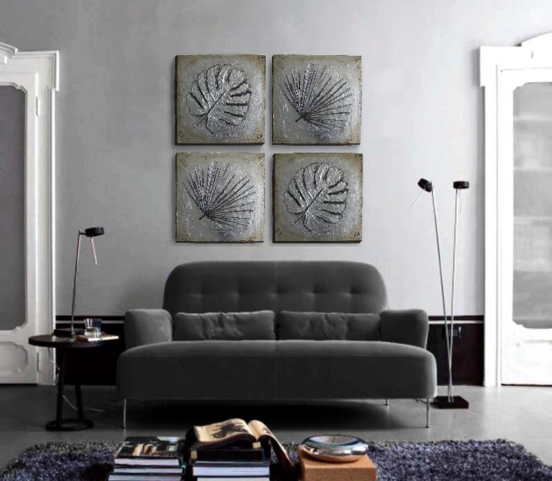cuadros en plata para sofas