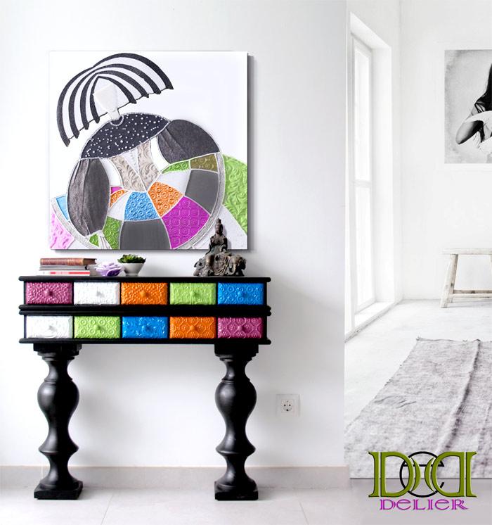 15 ideas para decorar con cuadros - Cuadros de meninas ...