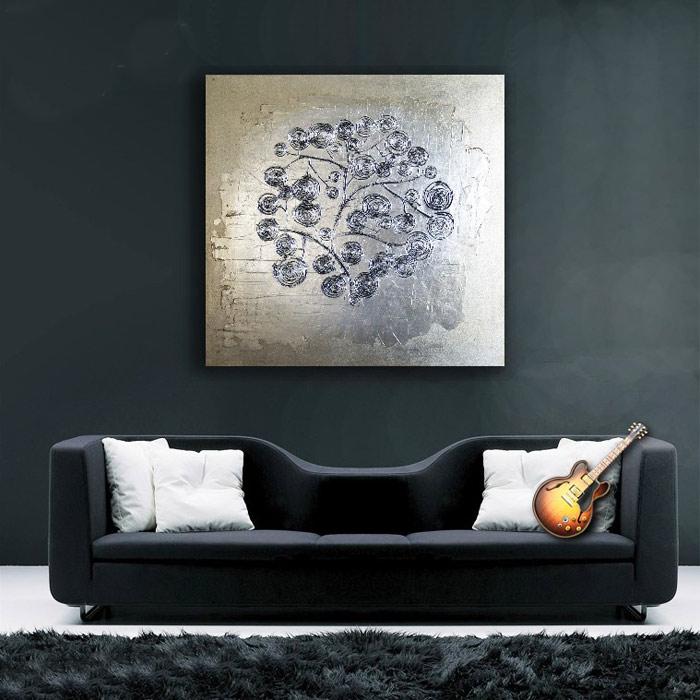 comprar cuadros modernos para sofa salon