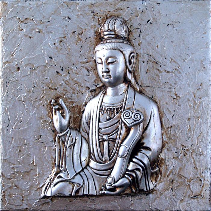 Cuadro zen corazon Avalookitesvara