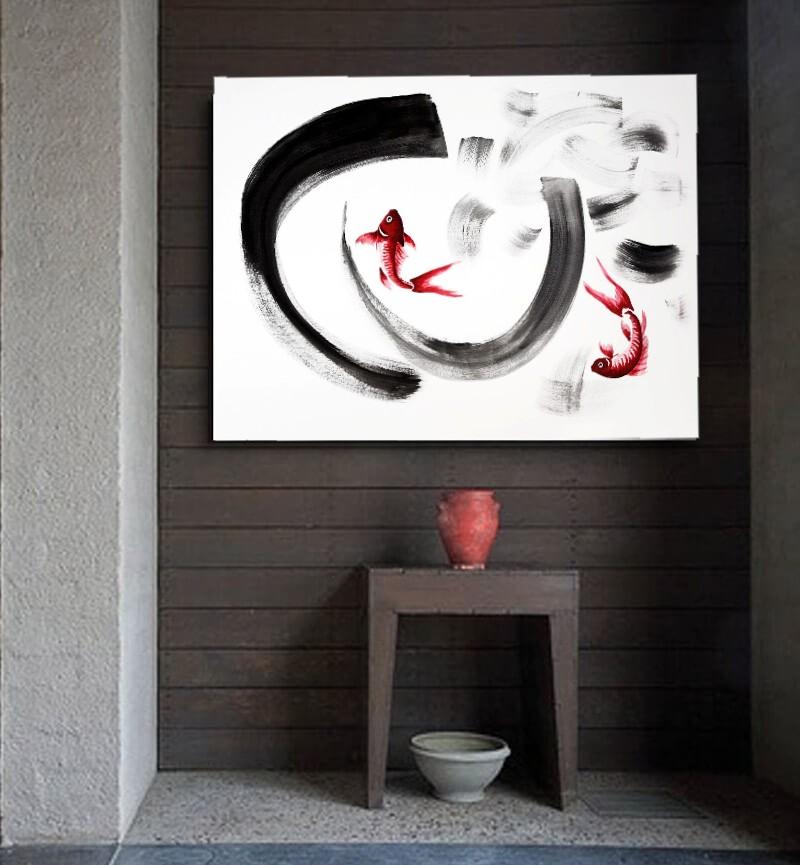 cuadros zen para pasillos