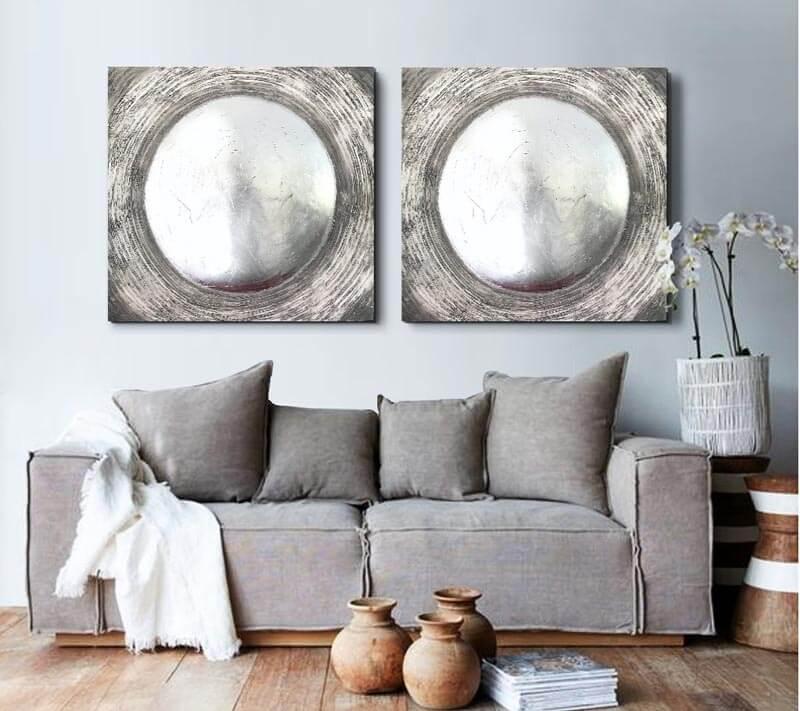 cuadros modernos sofas