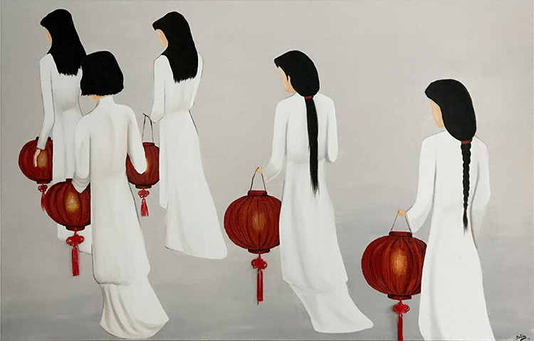 cuadros japoneses modernos