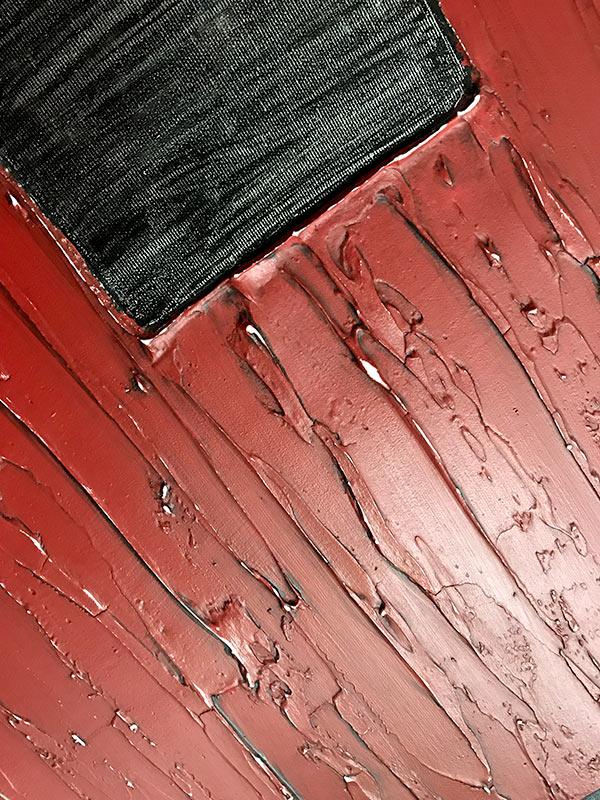 cuadros texturas rojos