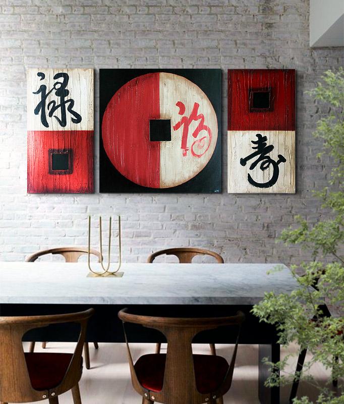 cuadros japoneses chinos