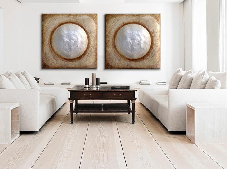 ▷ Cuadros modernos para salón