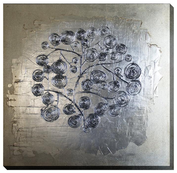 cuadros modernos en plata