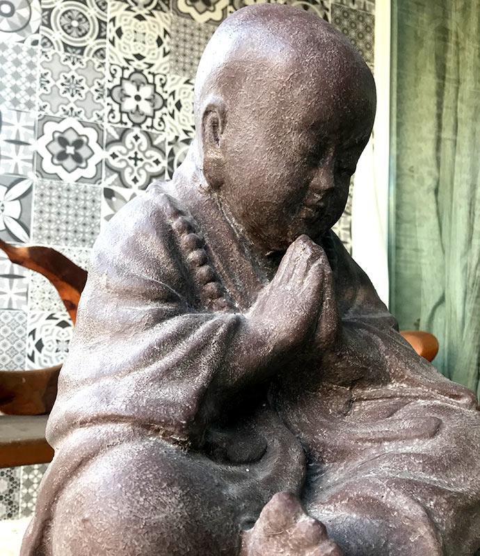 figura estatua shaolin