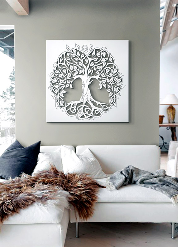 decoracion arbol de la vida