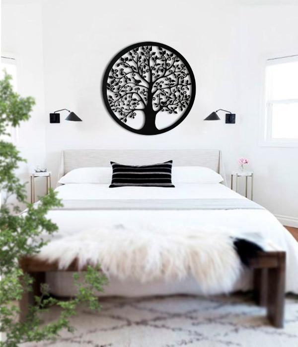 cuadros en madera del arbol vida
