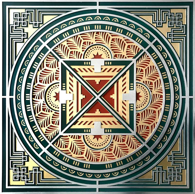 cuadros de mandalas tradicionales