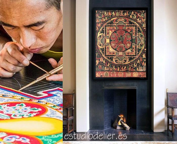 mandalas tibetanos tienda