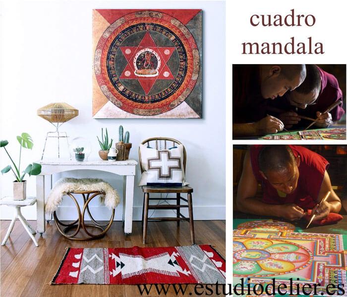 cuadros budistas orientales