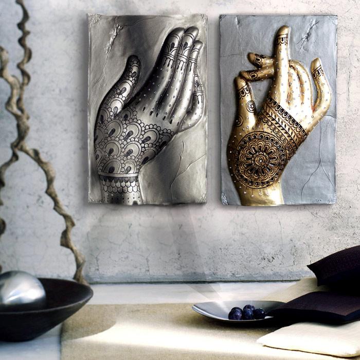 manos de buda