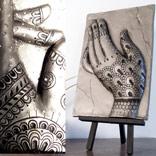 manos cadros