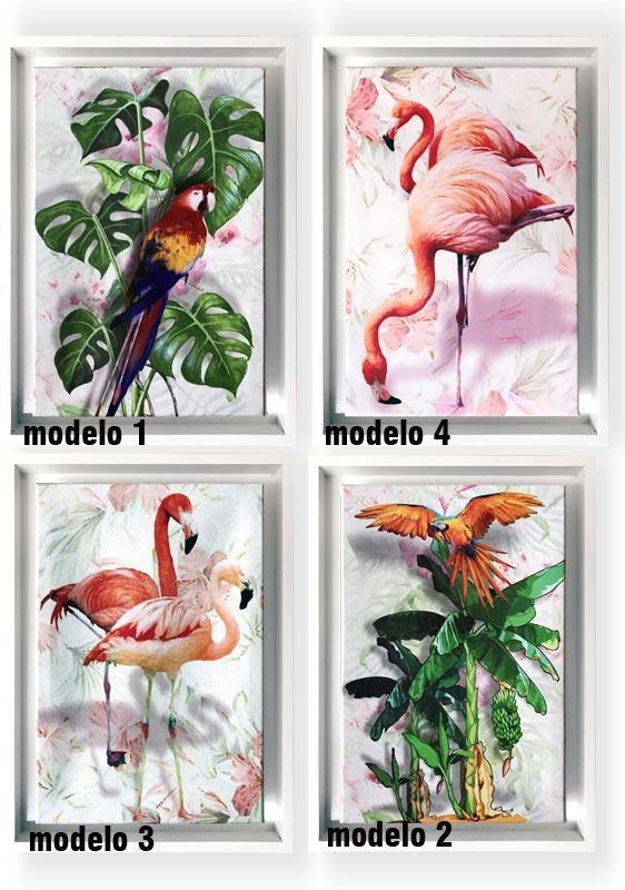 cuadros de flamencos