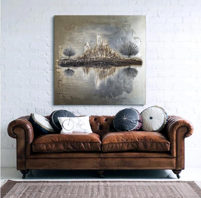 cuadros modernos al oleo abstractos