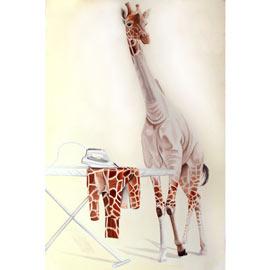 cuadros de jirafas