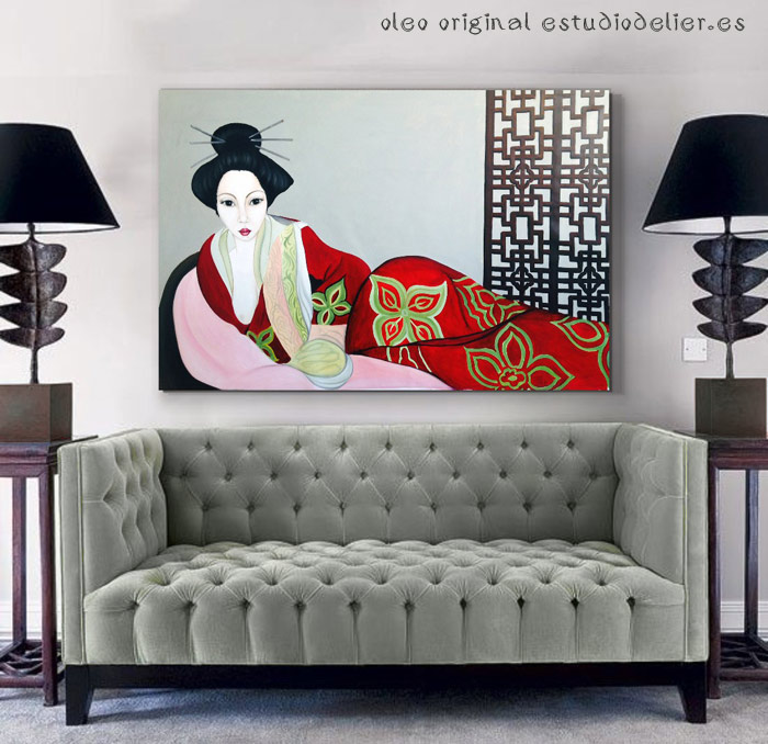 cuadros orientales modernos