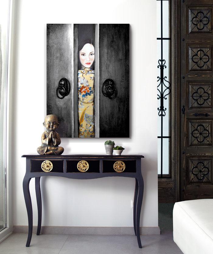 cuadros orientales entradas