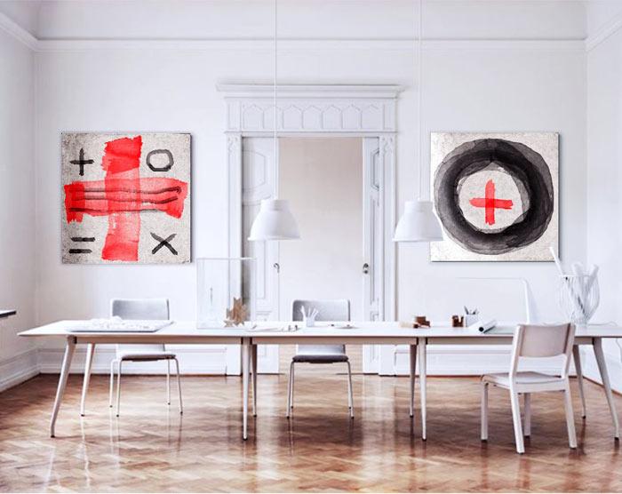 cuadros modernos para mesa comedor