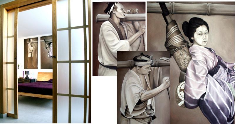 cuadros pintados al oleo