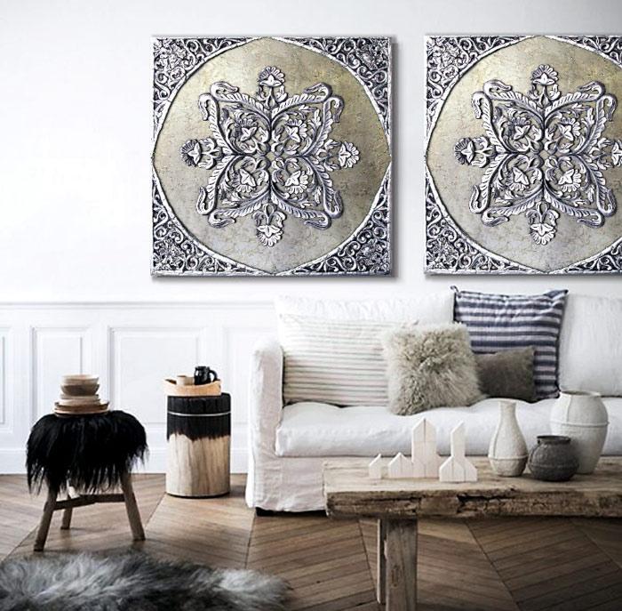 cuadros decorativos sofas
