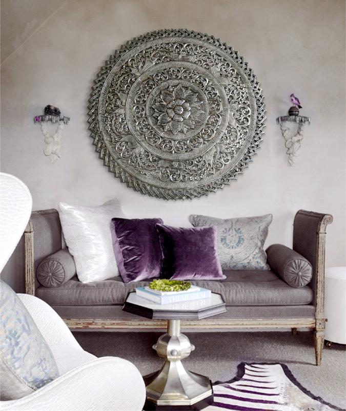 cuadros rosetones mandalas