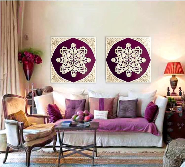 cuadros clasicos sofas