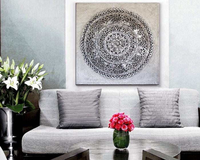 comprar cuadros para el sofa