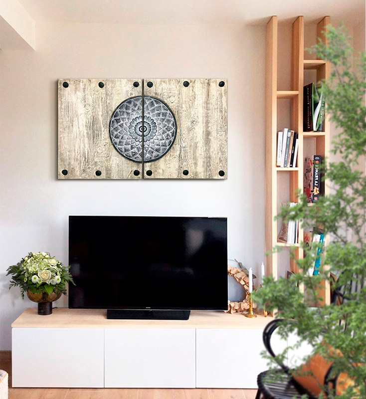 cuadros pared television