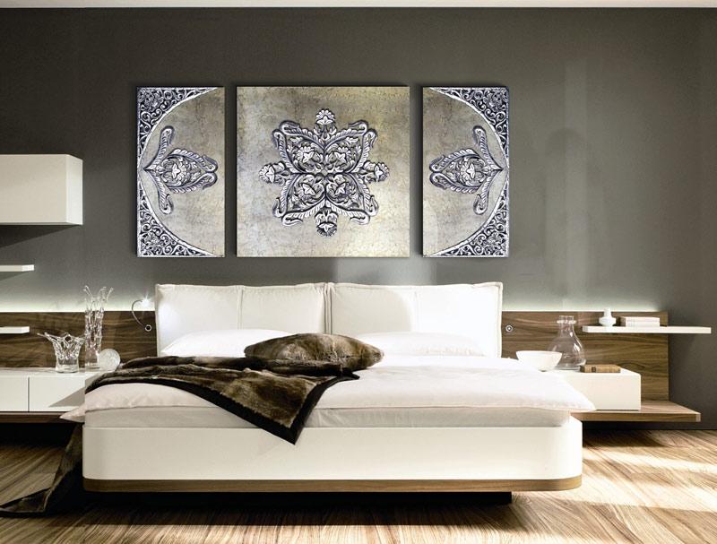 comprar cuadros tripticos dormitorio
