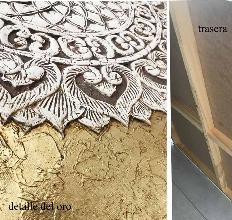 decoracion etnica en oro