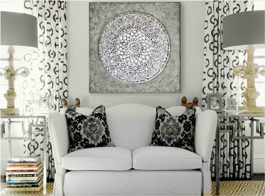 Pin cuadros pinturas al oleo modernos contemporaneos - Cuadros mandalas ...