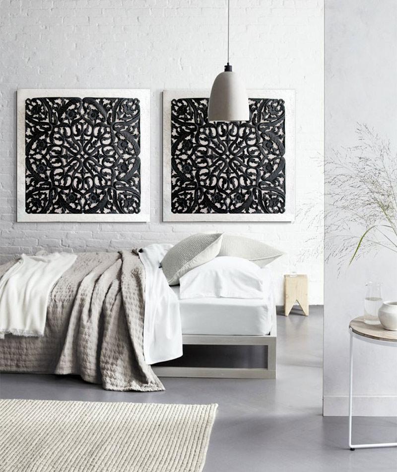Cuadros para dormitorios cabeceros - Decoracion con cuadros grandes ...