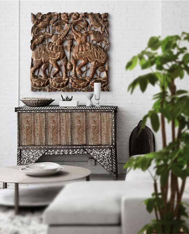 comprar tallas de madera elefantes