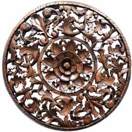 comprar mandalas rosetones de madera