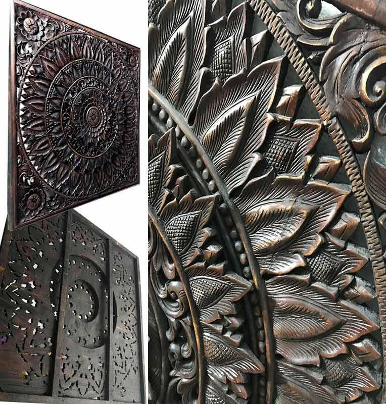 tallas de madera de tailandia