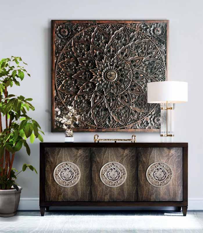 tallas de madera para pared