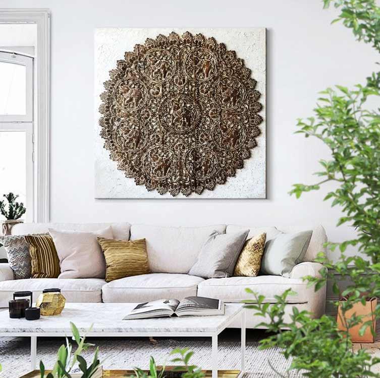 rosetones de madera para sofas